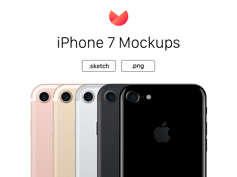 iPhone 7 PNG Mockups – All Colors by Cagri Yurtbasi