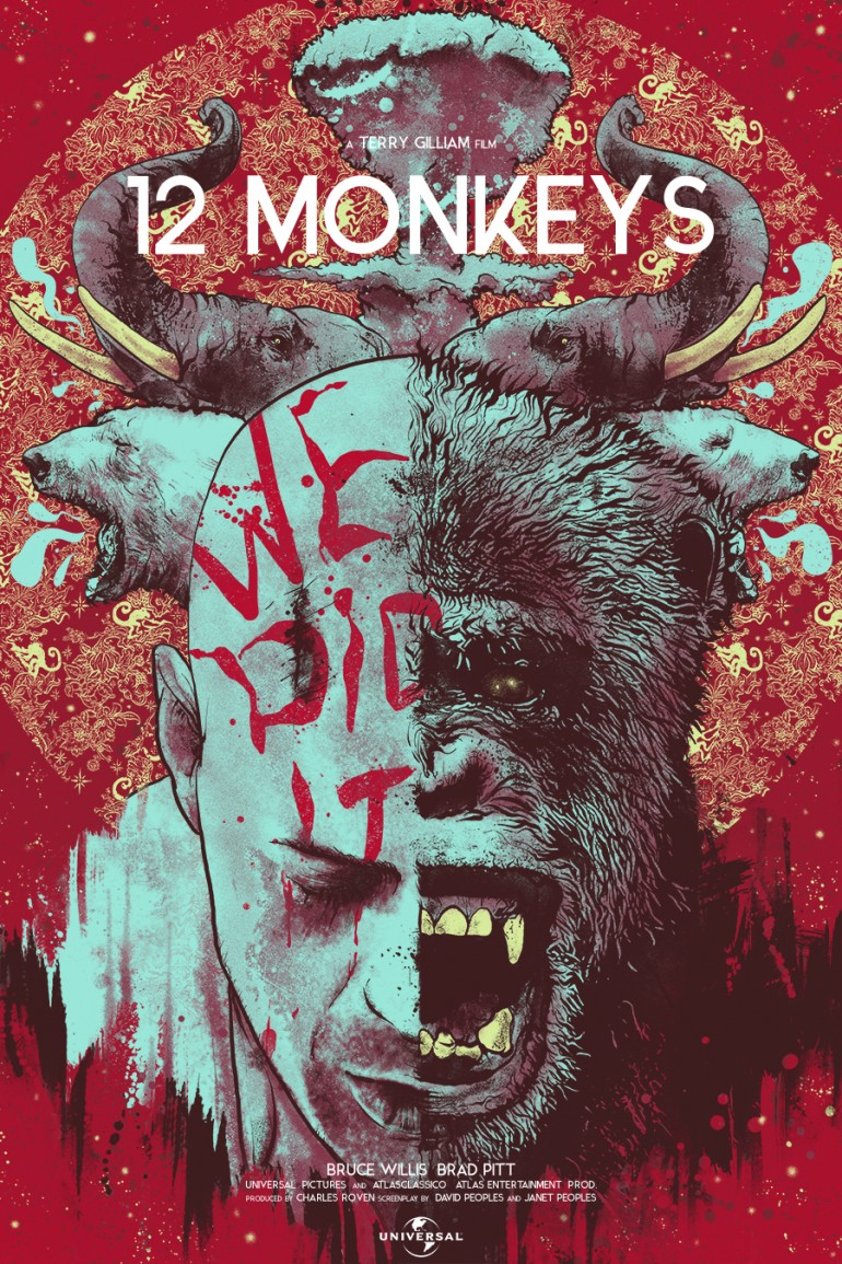 12 Monkeys by Nikita kaun