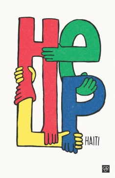 HELP – For the HAITI POSTER PROJECT