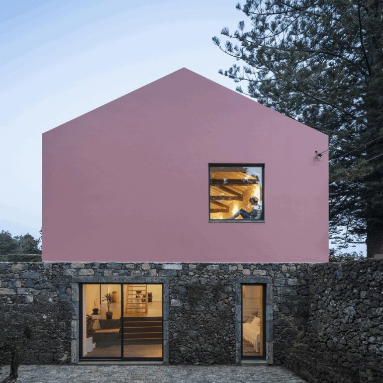 An Old Stable Converted into Two Contemporary Guesthouses