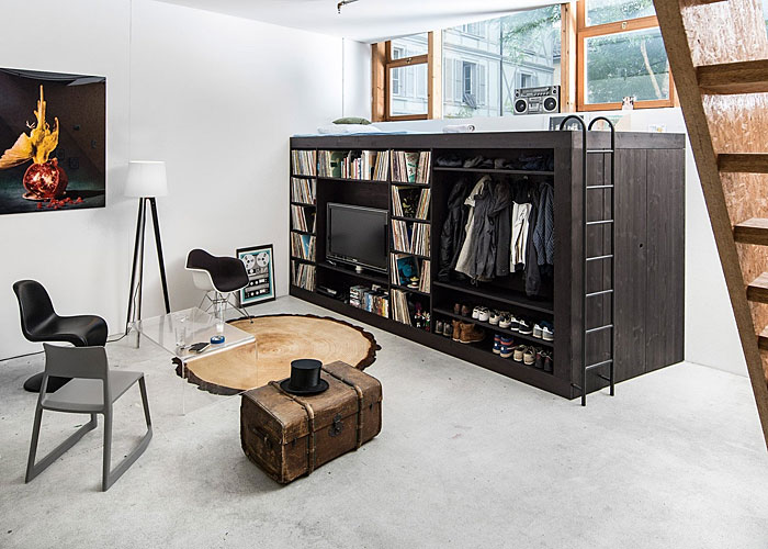 Combo-box: all the furniture in one unit