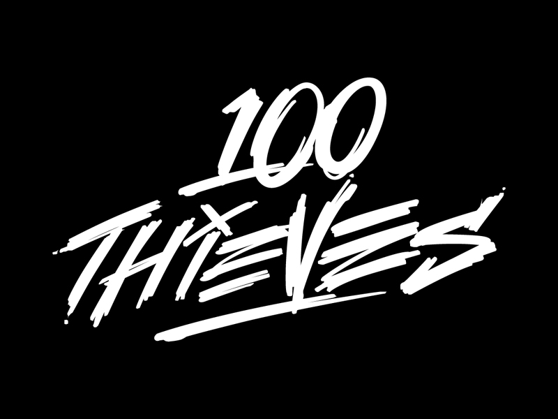 100 Thieves branding by Jared Mirabile