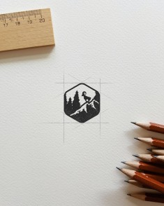 Logo for the Men's Journal by Deep Bear