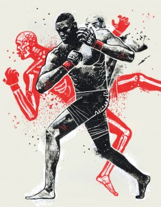Dynamic Fighting Illustrations by Gian Galang