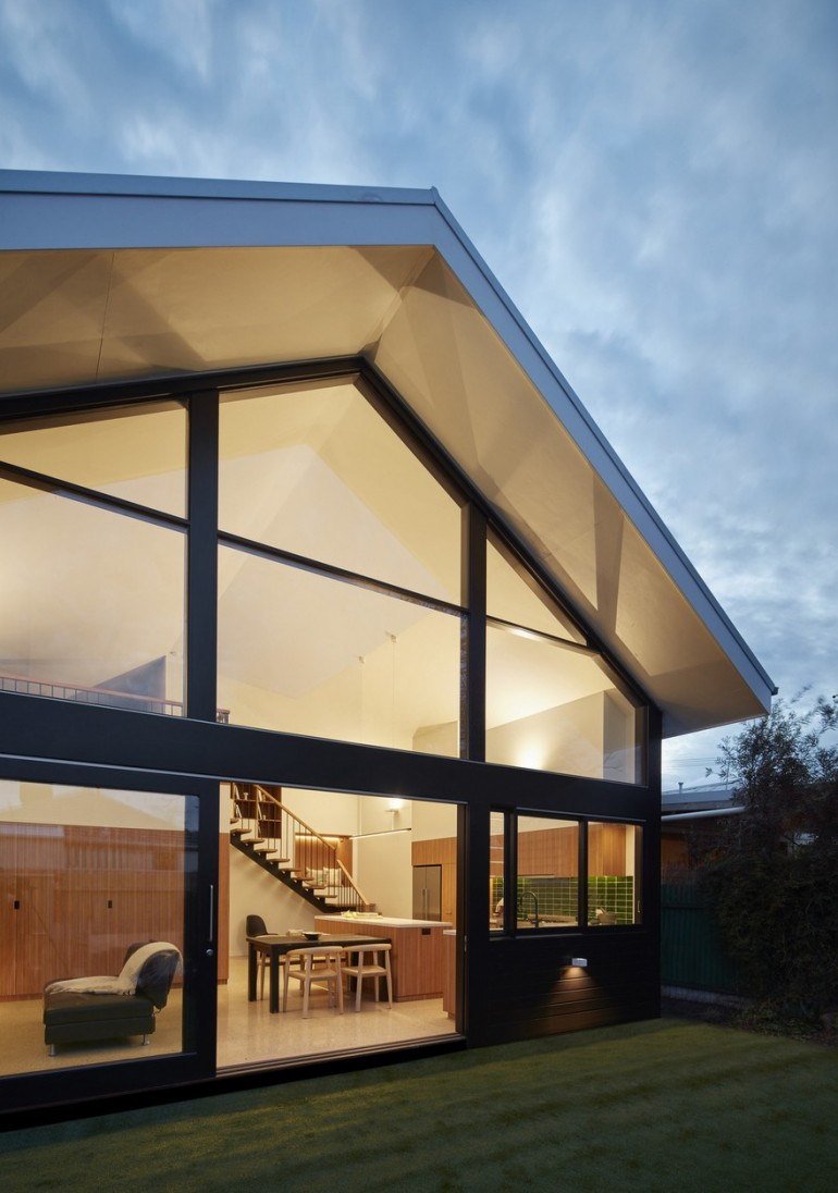 Federation Cottage Transformed into a Two-Level, Contemporary House in Melbourne