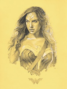 Wonder Woman – ORIGINAL DRAWINGS by Grzegorz Domaradzki