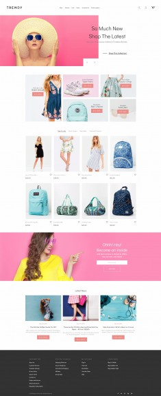 Trendy – Minimal Fashion Boutique