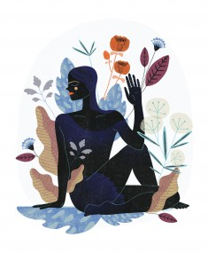 Wellbeing illustrations by Anna Rudak