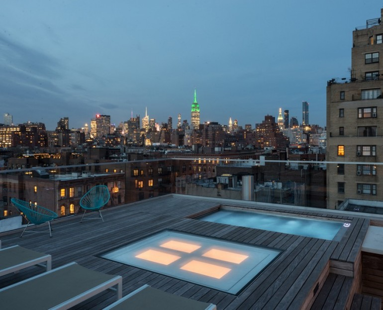 West Village Penthouse Renovated and Reconfigured as an Open and Airy Home