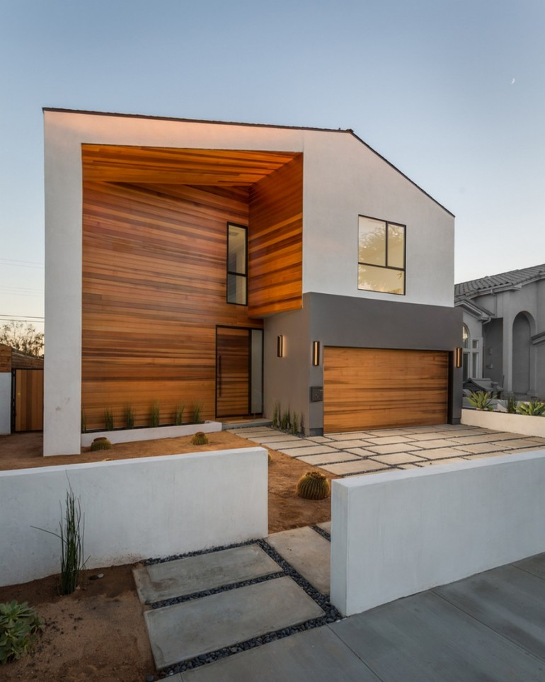 Admiral House in Los Angeles Featuring Contemporary Design and a Zen-like Aesthetic
