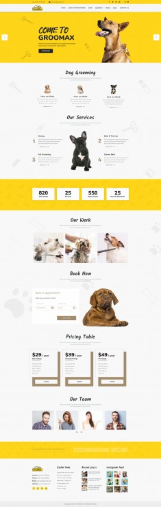 Groomax – Pet Grooming & Shop