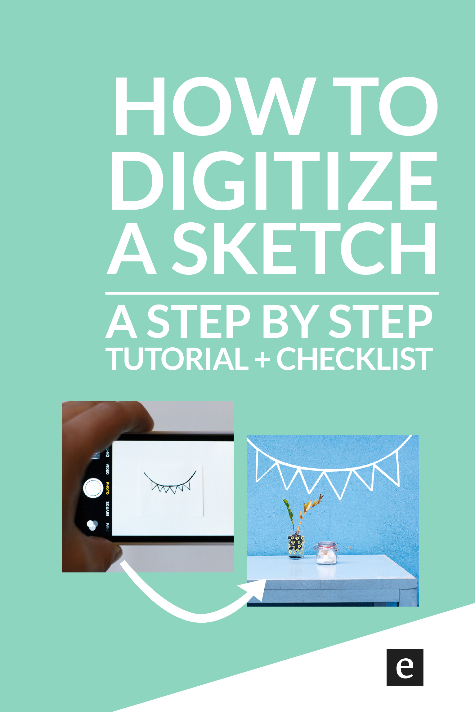 How To Turn A Sketch Into Digital Art