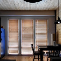 Interior wooden blinds
