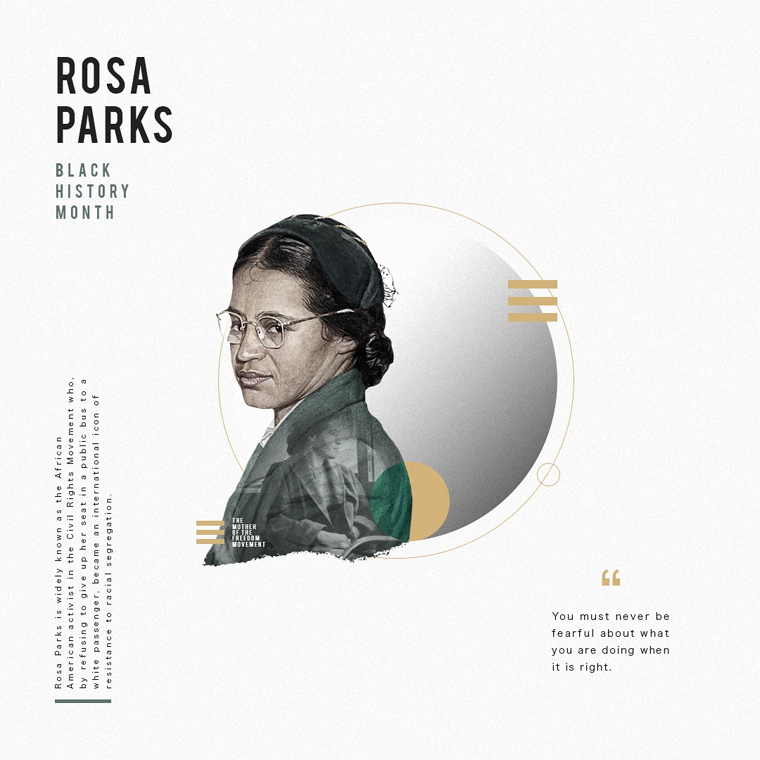 Rosa Parks Black History Month