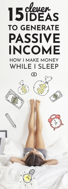 Passive Income Ideas to Make Money While You Sleep