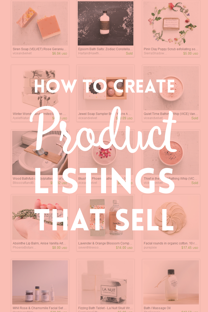 Product listings that sell ~ Elan Creative Co.