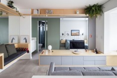 Small Studio Apartment by Estudio BRA