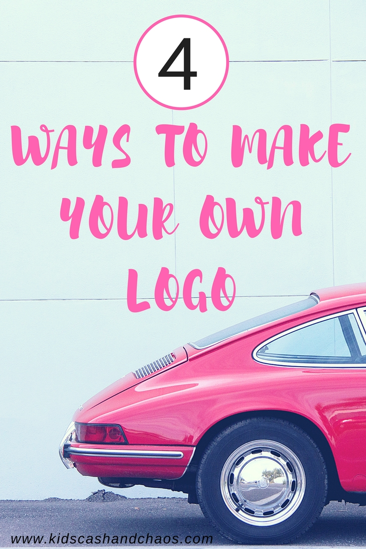 4 Ways to Make Your Own Logo in 2018