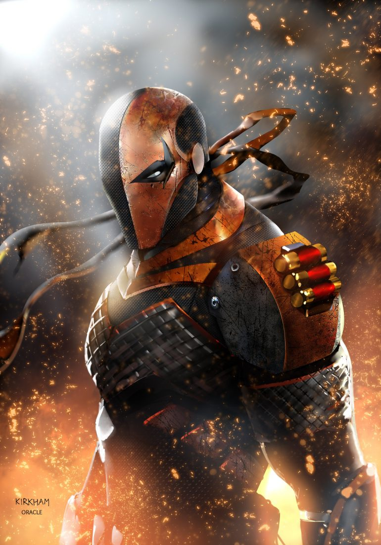 Deathstroke – I am Slade by Mystic-Oracle