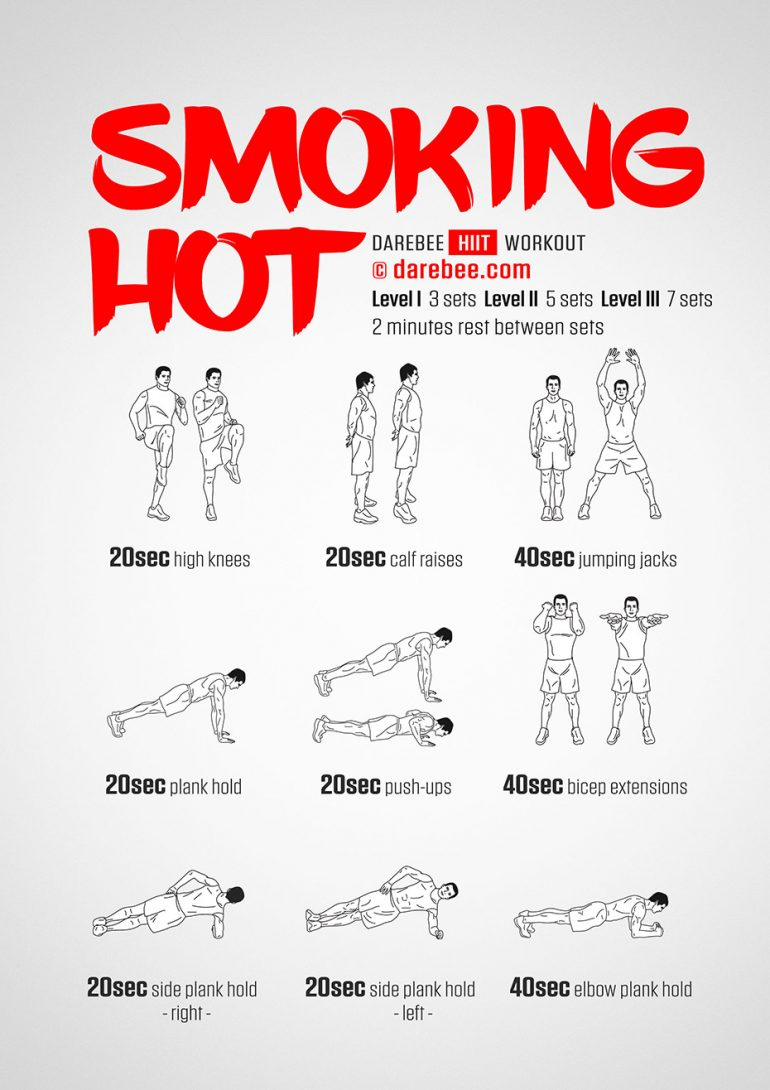 Smoking Hot Workout