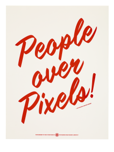 People Over Pixels, United States