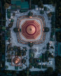 MYANMAR Temples from Above