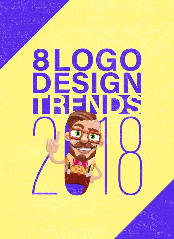 8 Logo Design Trends 2018: Stay at the Top of Your Game