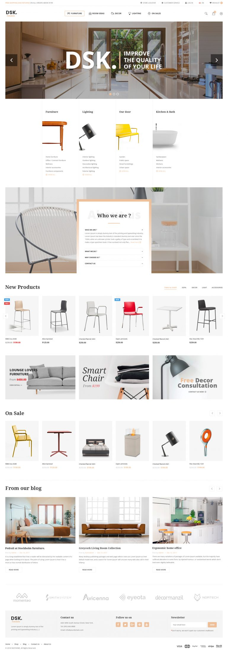 DSK – Furniture Template by snstheme
