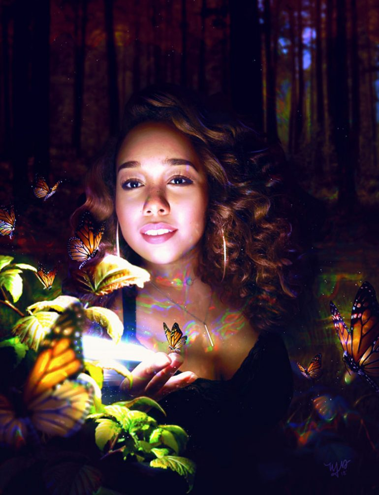 How to Create a Forest Self-Portrait Photo Manipulation in Adobe Photoshop