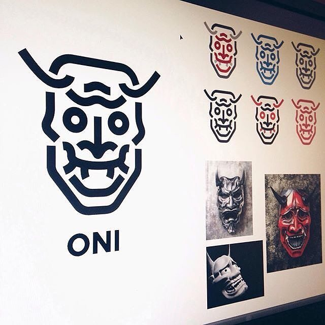 Oni Mask by @cfowlerdesign