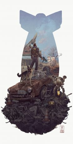 fallout 4 by AJFrena