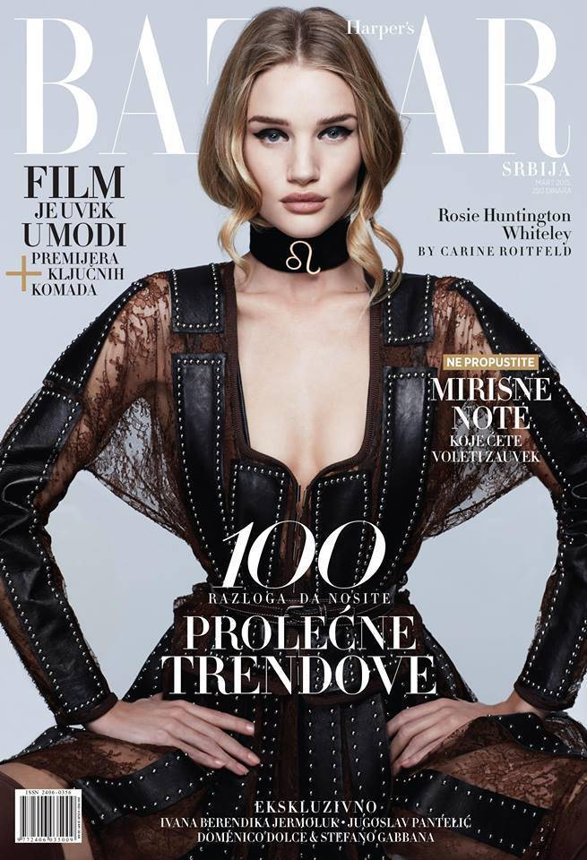 Harper's Bazaar Serbia March 2015