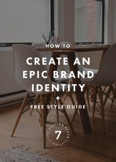 4 Steps to Create an Epic Brand Identity + a Free Style Guide