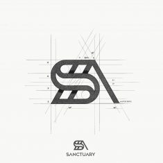 SANCTUARY Logo Design