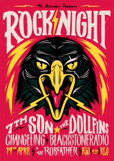 Rock Night Poster