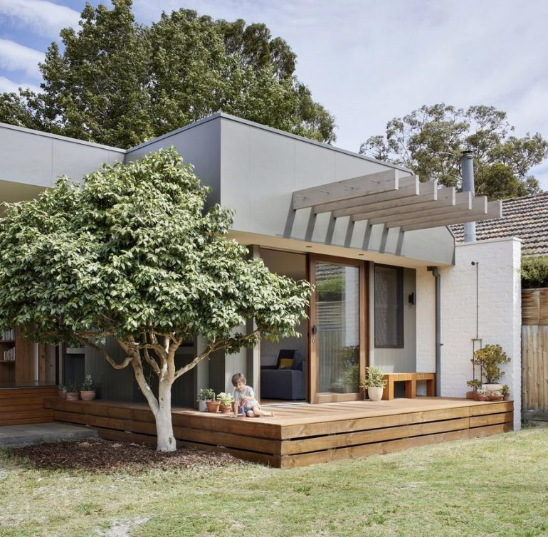 A Modern Home Addition That Provide a Relaxed Environment for Family Life
