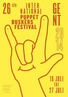 International Puppet Buskers Festival by Steve Reynders