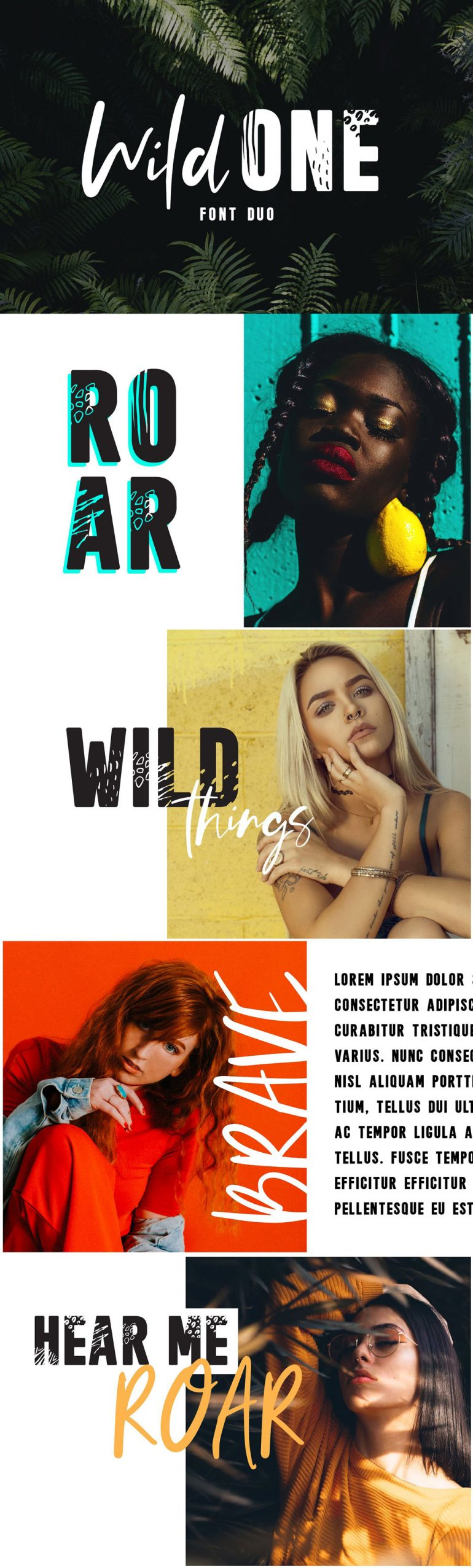 Wild One – A Wild Font Duo