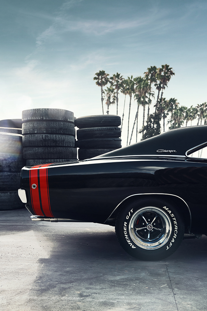 1968 Dodge Charger R/T + Sera