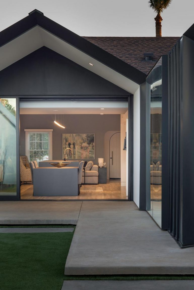 English Tudor Style House Gets Modern Transformation on ... on townhouse interior design, kelly hoppen interior design, amazing home house design, english cottage design,