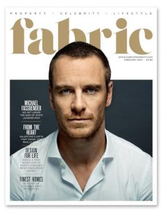Michael Fassbender images Fabric magazine cover