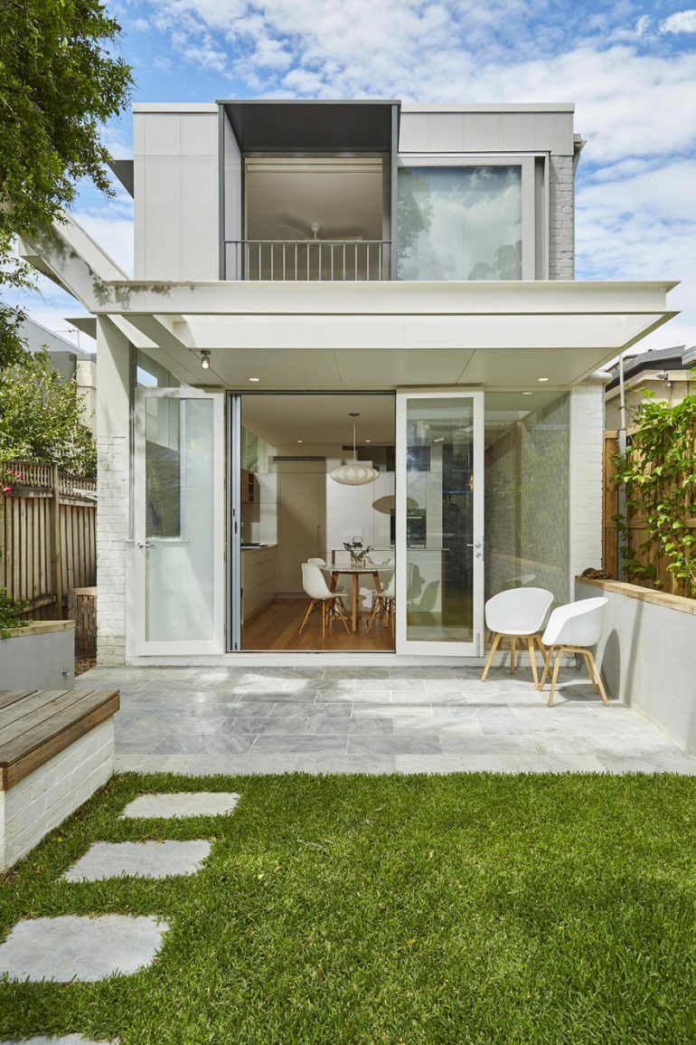 Inner City Cottage Turned into a Contemporary, Light Filled Home