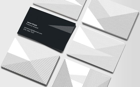 Optical Design Double-sided Business Cards