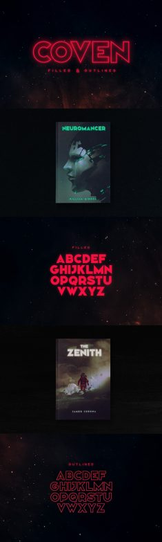 Coven Typeface