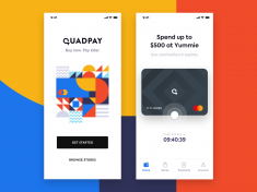 QuadPay – iOS App Exploration