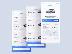 Heaven Mobile UI Kit
