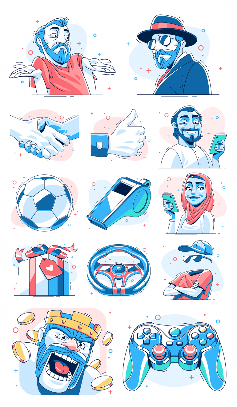 Illustrations for Hotspot Shield