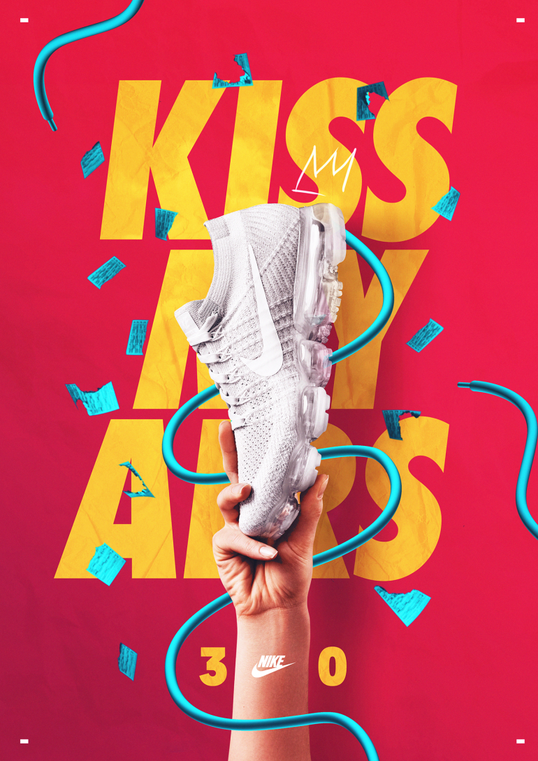 KISS MY AIRS® Nike 30th Anniversary on Inspirationde
