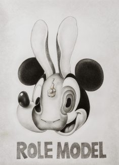 Mickey Mouse & Rabbit