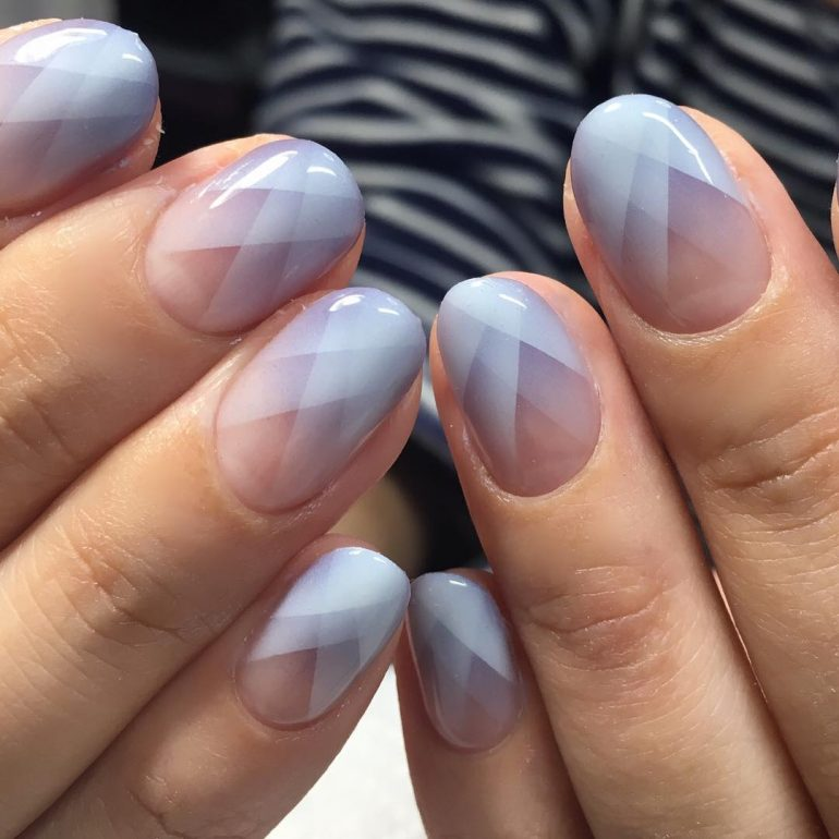 Optical Illusion Nails/Geometric Nails